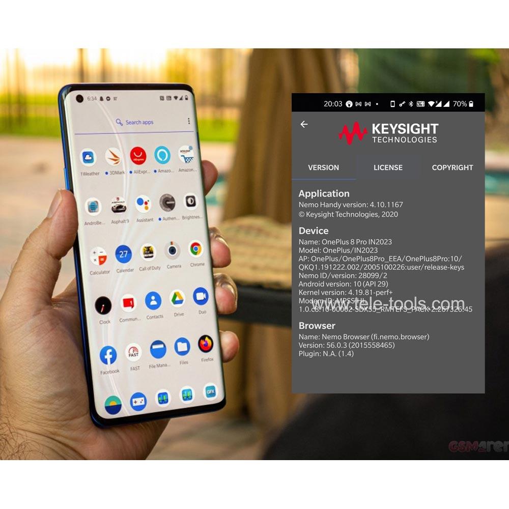 OnePlus 8 Pro 5G Nemo handy