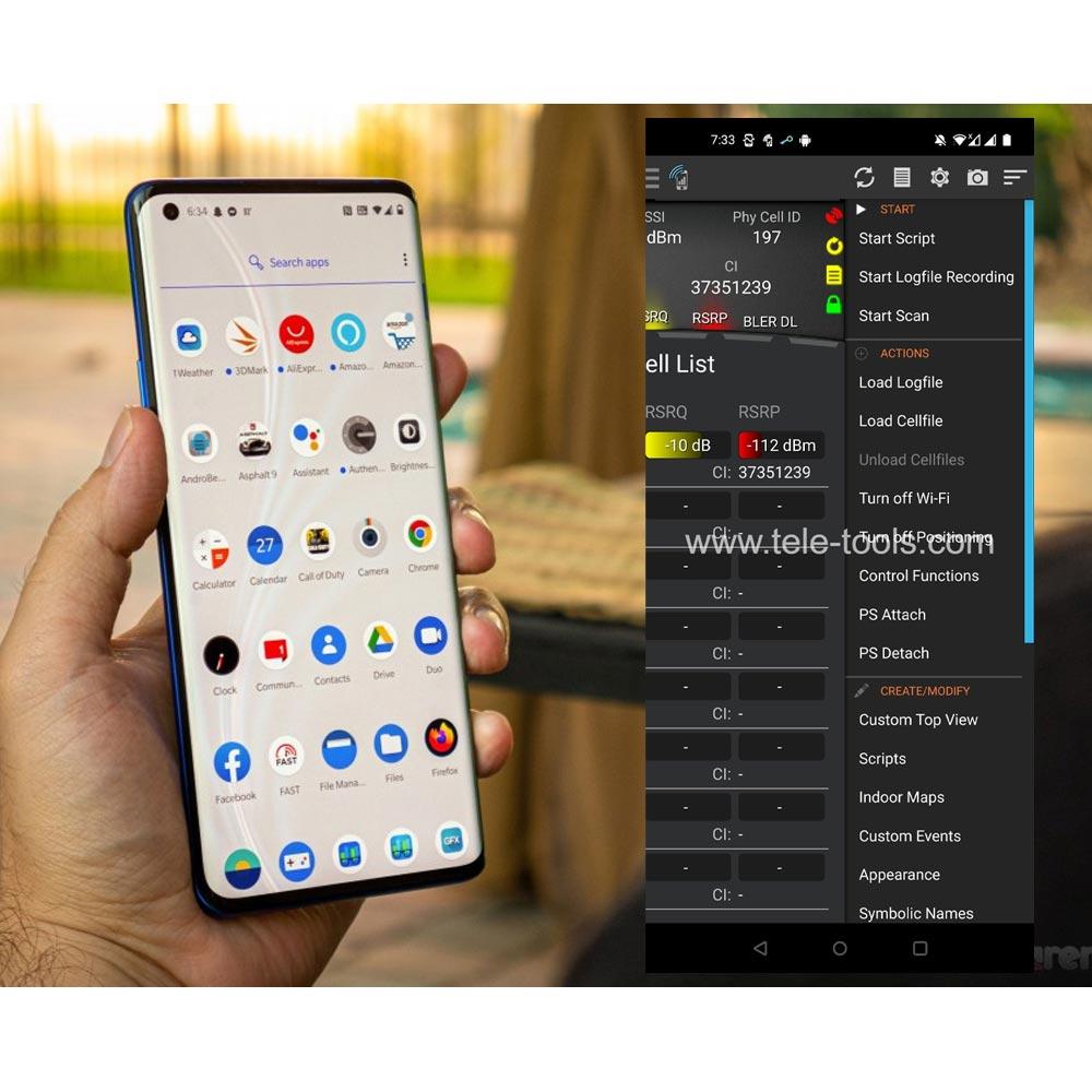 OnePlus 8 Pro 5G Tems Pocket