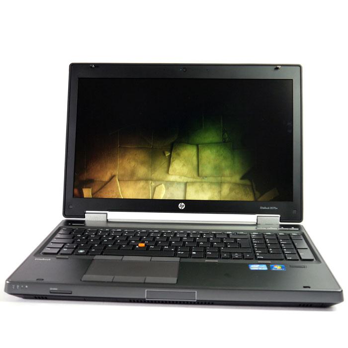 Photo of HP 8570W laptop drive test